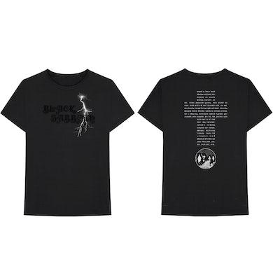 Black Sabbath Self-Titled Album Lightning T-Shirt