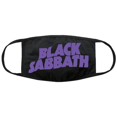 Black Sabbath Logo Face Mask