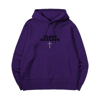 Black Sabbath Paranoid Purple Hoodie