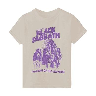 Black Sabbath Symptom Of The Universe Kids T-Shirt