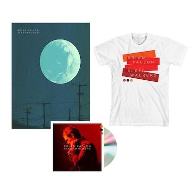 Brian Fallon Sleepwalkers CD + Poster + T-Shirt