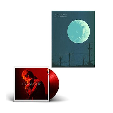 Brian Fallon Deluxe Colored Vinyl + Signed Poster