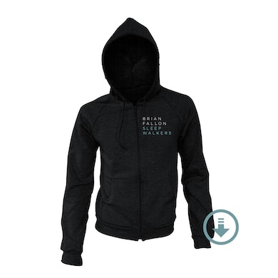 Brian Fallon Sleepwalkers Hoodie + Digital Album