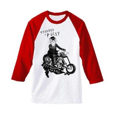 Thunderpussy PUSS BASEBALL Long Sleeve T-Shirt