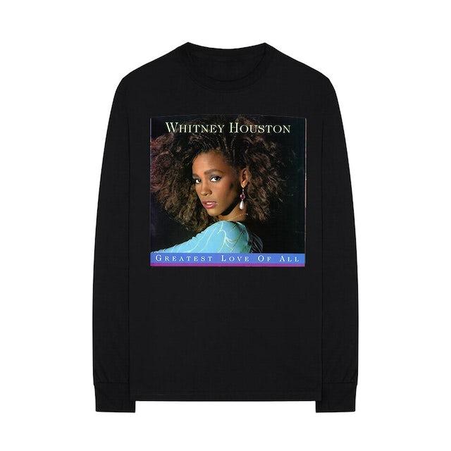 Whitney Houston Greatest Love of All - Long Sleeve Shirt