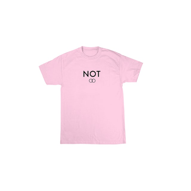 Loote Not Dating Pink Tee