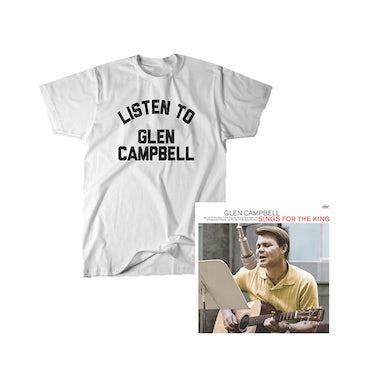 Glen Campbell Listen Tee + Glen Sings For The King Digital Download