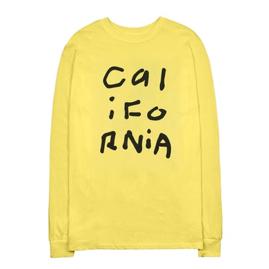 Diplo California Collage Yellow Long Sleeve Shirt