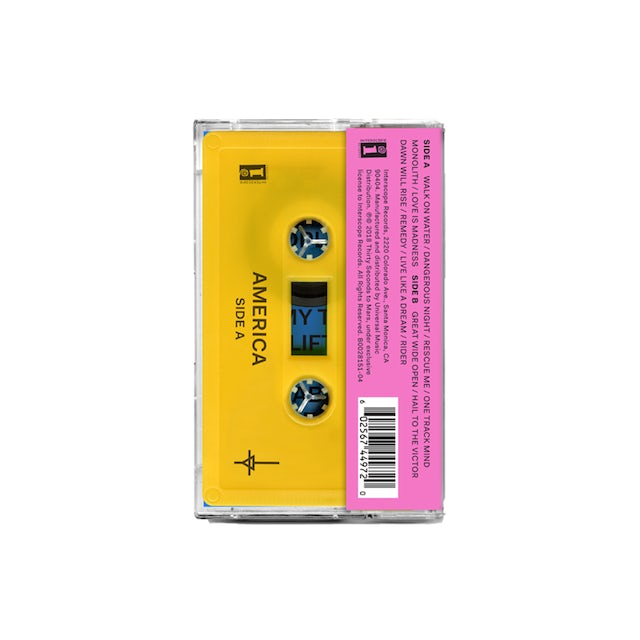 Thirty Seconds To Mars America Cassette + Digital Download