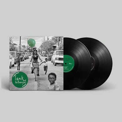 Tank and the Bangas Autographed Green Balloon Vinyl
