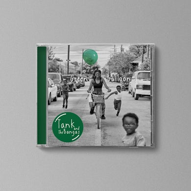 Tank and the Bangas Autographed Green Balloon CD