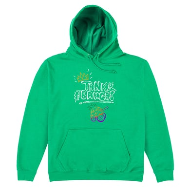 Tank and The Bangas Green Hoodie
