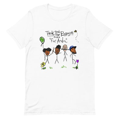 Tank and the Bangas FOR ANDRE T-SHIRT WHITE