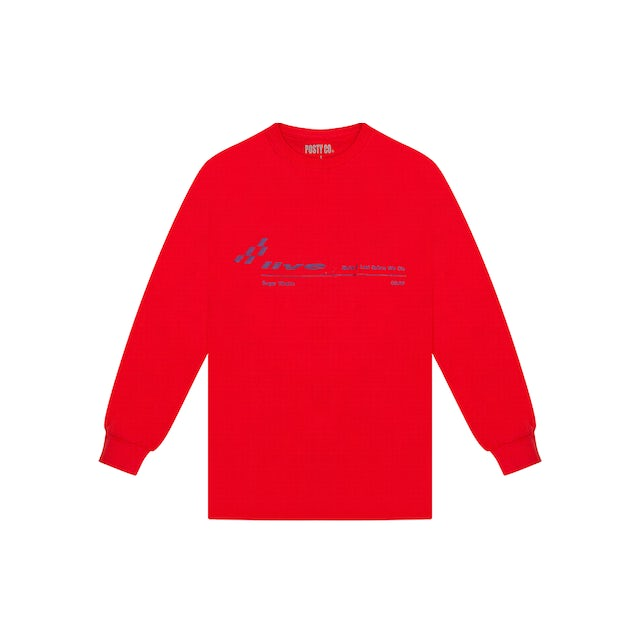 Post Malone RACING LONG SLEEVE T-SHIRT