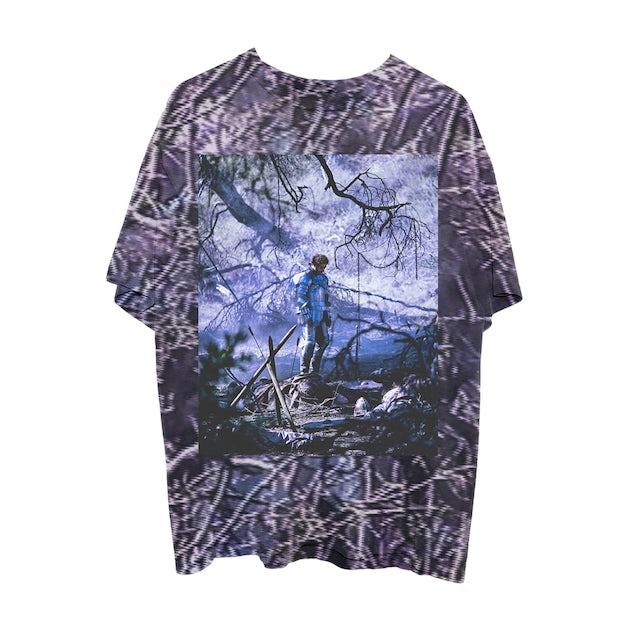 Post Malone Circles Tree Camo T-Shirt