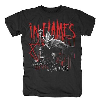 In Flames Devil Left In My Heart T-Shirt