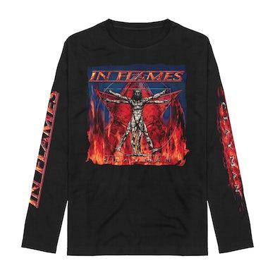 In Flames Clayman Album Art Longsleeve T-Shirt