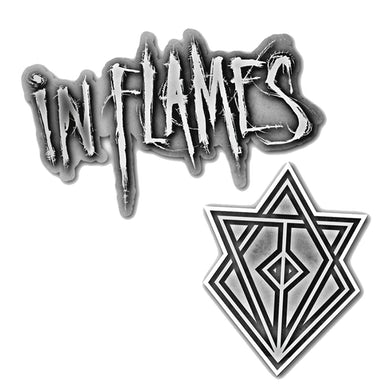 In Flames Battles Pin Pack