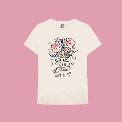 Florence and The Machine CREAM GIVE EM HELL TEE
