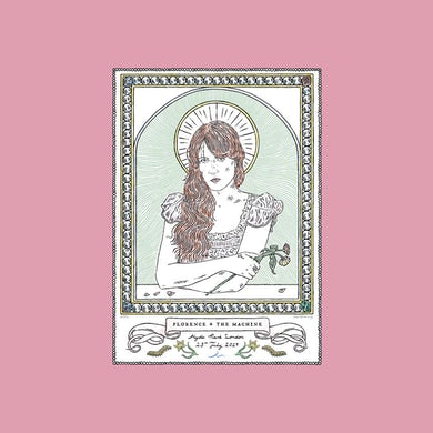 Florence and The Machine HYDE PARK SCREEN PRINT