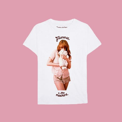 Florence and The Machine LUNGS 10 TEE: WHITE