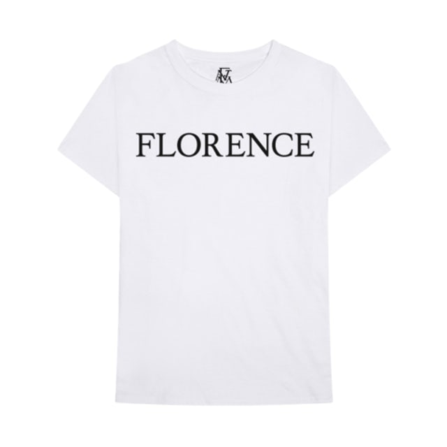 Florence and The Machine Black Logo Tee + Digital Album