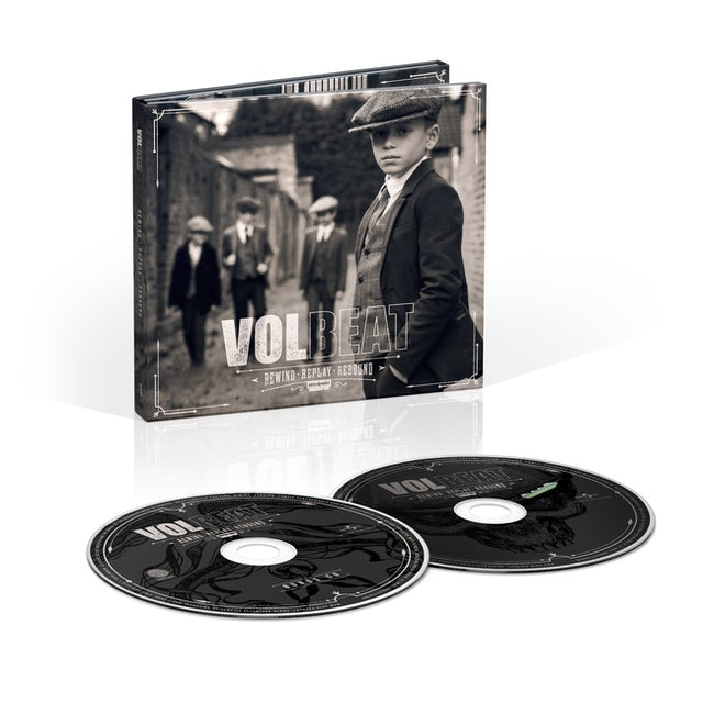 Volbeat Rewind, Replay, Rebound Deluxe 2CD Digipak + Digital Album