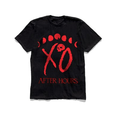 The Weeknd XO LOGO MOON PHASE TEE + DIGITAL ALBUM