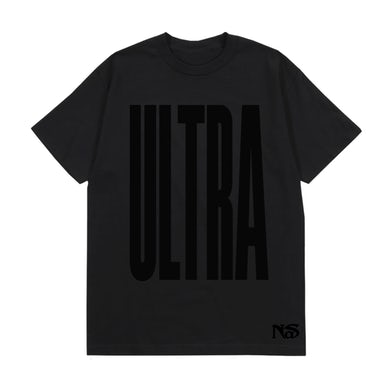 Nas BLACK ULTRA BLACK T-SHIRT
