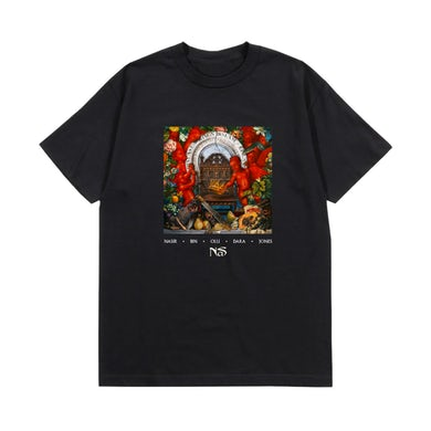 Nas KING'S DISEASE ALBUM COVER T-SHIRT