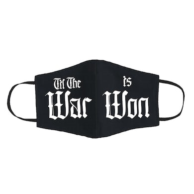 Nas THE WAR IS WON FACE MASK
