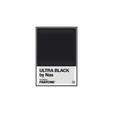 PANTONE X NAS ULTRA BLACK PIN