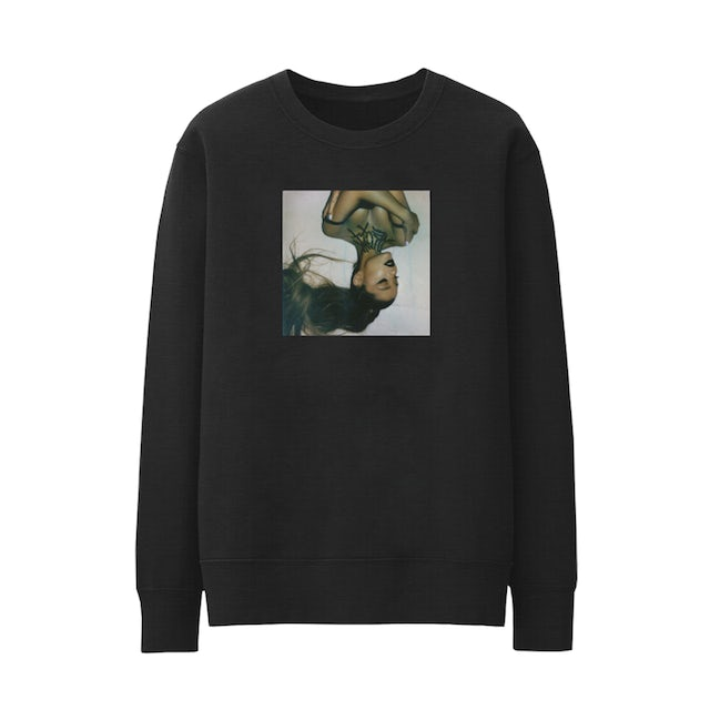 Ariana Grande thank u, next cover crewneck + digital album