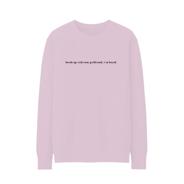 Ariana Grande break up with your girlfriend crewneck + digital album