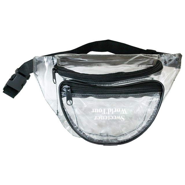 Ariana Grande Sweetener Tour Clear Fanny Pack