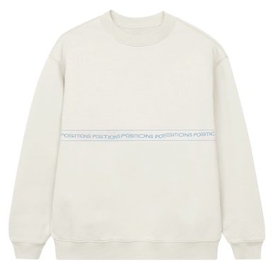 Ariana Grande positions wrap around crewneck ii