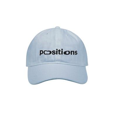 Ariana Grande positions dad hat