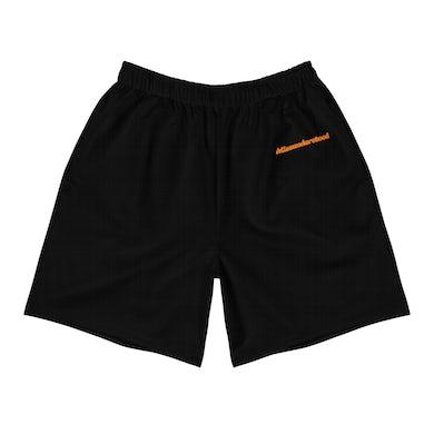 Misunderstood Orange Logo Shorts