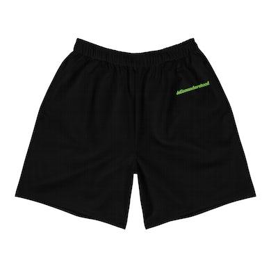 Misunderstood Green Logo Shorts