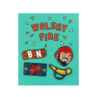 Walshy Fire - Enamel Pin Set