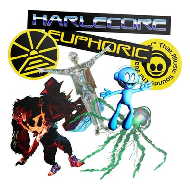 Danny L Harle - Harlecore Sticker Pack