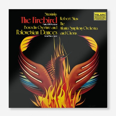 Robert Shaw Stravinsky's Firebird Suite &Borodin's Polovtsian Dances(LP) (Vinyl)