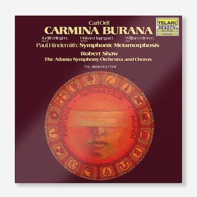 Robert Shaw Carl Orff's Carmina Burana &Paul Hindemith's Symphonic Metamorphosis (2-LP) (Vinyl)