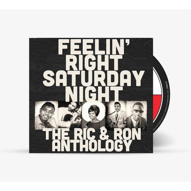 Eddie Bo Various - Feelin' Right Saturday Night: The Ric & Ron Anthology (CD)