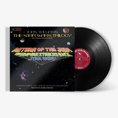The Star Wars Trilogy (From The Original Motion Picture Scores - LP) (Vinyl)