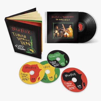 Béla Fleck - Throw Down Your Heart + The Ripple Effect Bundle (3 CD - 1 DVD Set + 180gr 2-LP) (Vinyl)