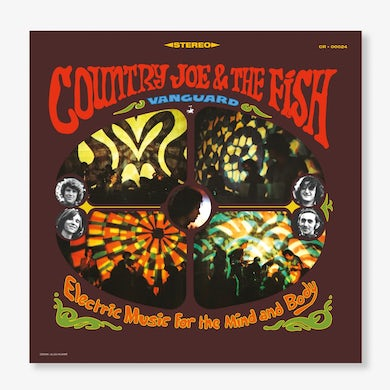 Country Joe and the Fish Country Joe & The Fish - Electric Music For The Mind And Body (LP) (Vinyl)