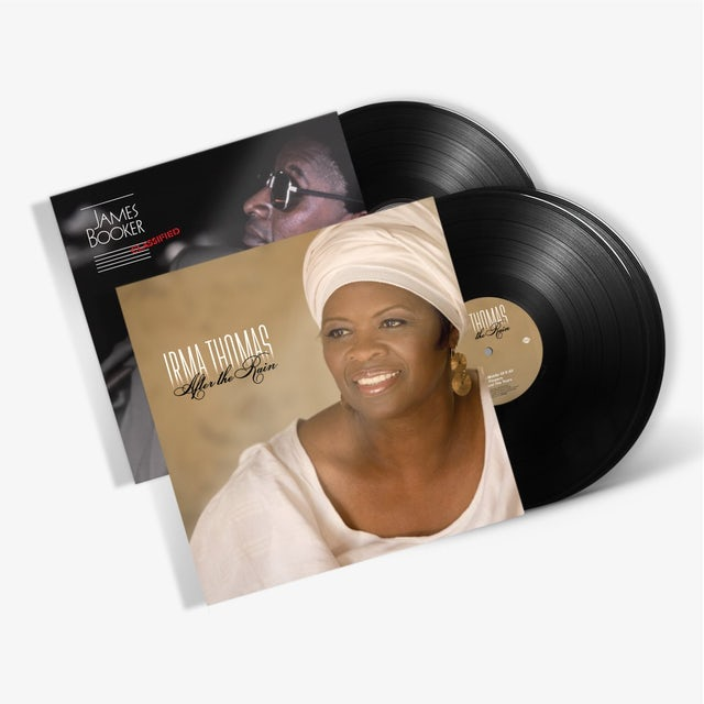 Irma Thomas - After The Rain, plus James Booker - Classified (LP Bundle) (Vinyl)