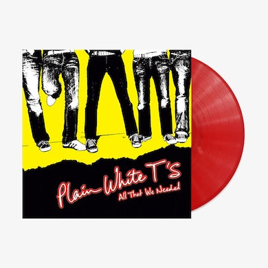 Plain White T's - All That We Needed (Red Opaque LP) (Vinyl)