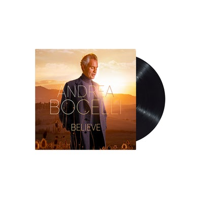 Andrea Bocelli Believe Vinyl